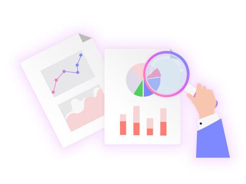 گزارش گیری و نمودارهای آماری